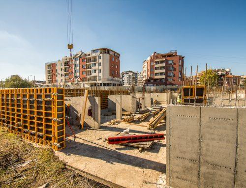 Жилищна сграда ЕТАЛОН – строителна площадка 10ти Октомври